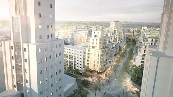 Futur projet d'aménagement du centre-ville de Villeurbanne