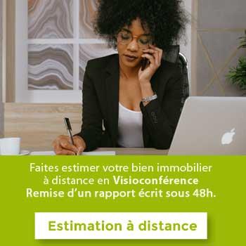 Estimation immobilière à Lyon et Rhône à distance - Visioconférence
