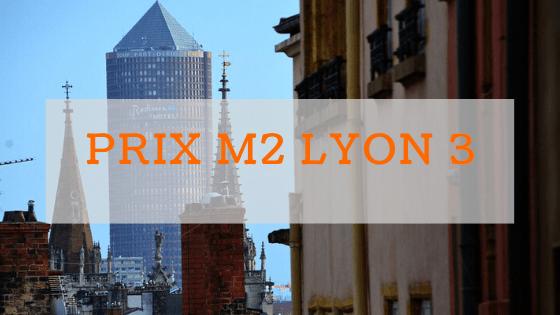 Prix m2 à Lyon 3