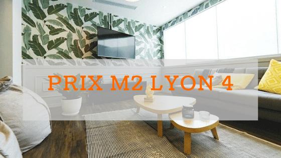 Prix m2 à Lyon 4 : croix rousse