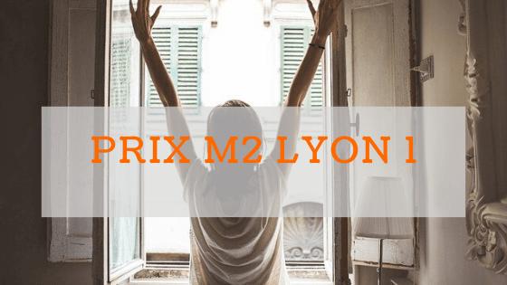 Prix m2 à Lyon 1