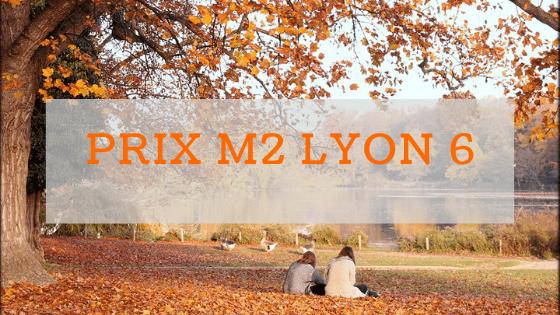 Prix m2 à Lyon 6
