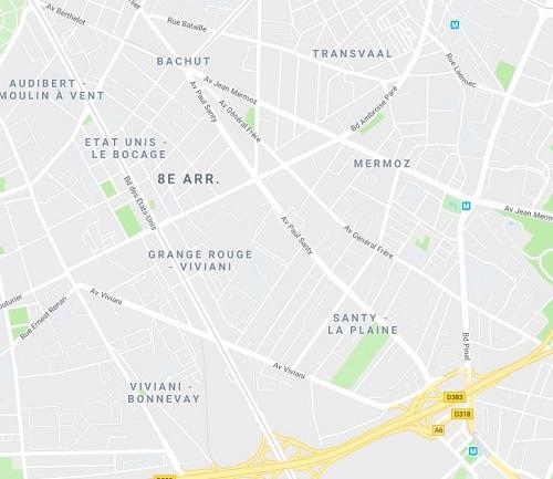 Quartiers Viviani-Santy-Lyon 8