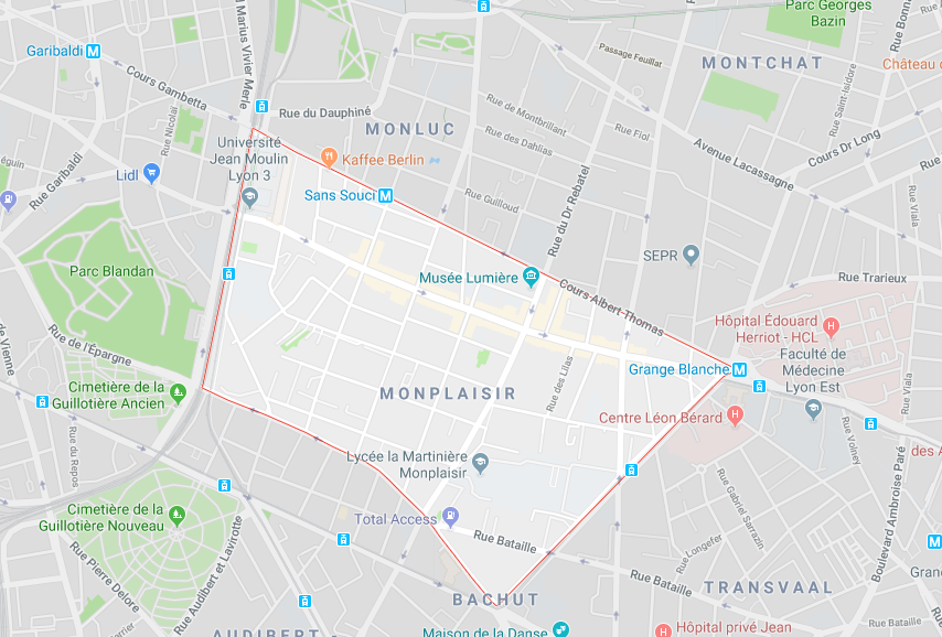 Vivre à Monplaisir - Lyon
